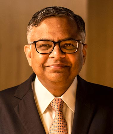 N. Chandrasekaran, Executive Chairman, Tata Sons