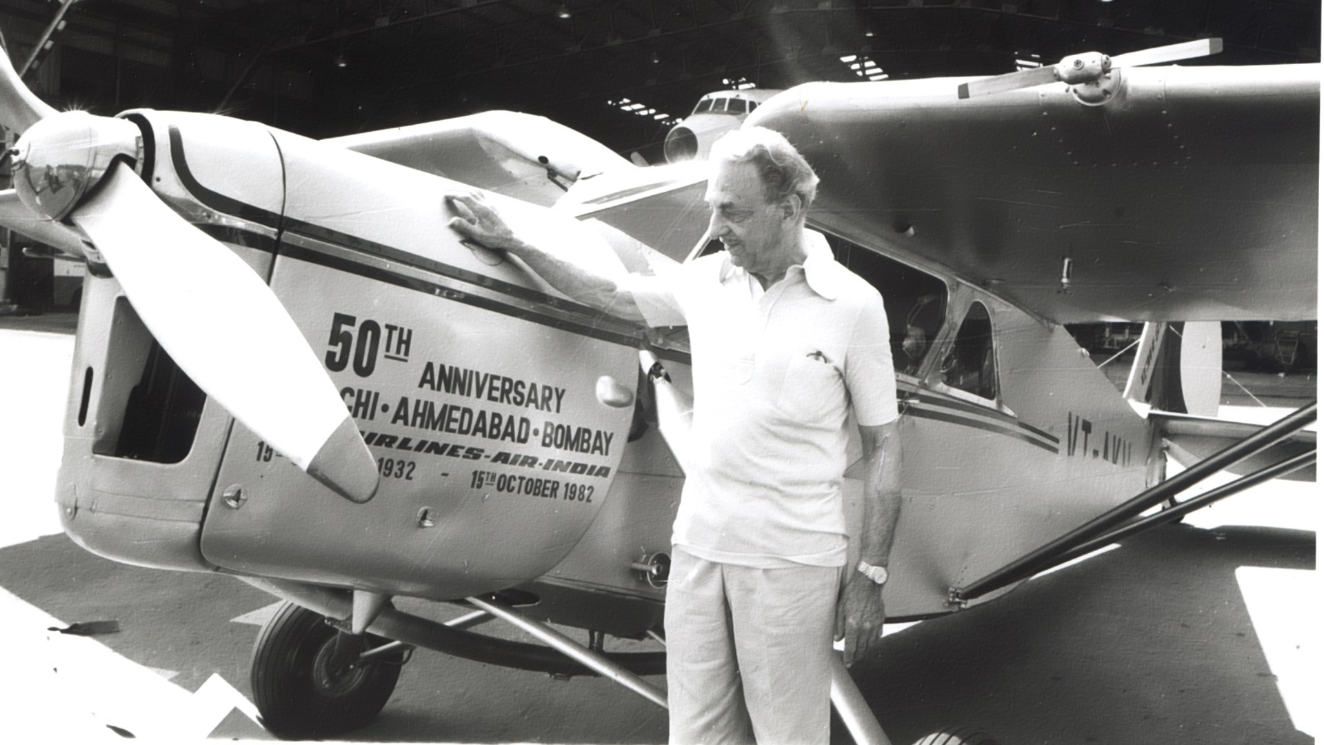 JRD Tata was the father of Indian aviation