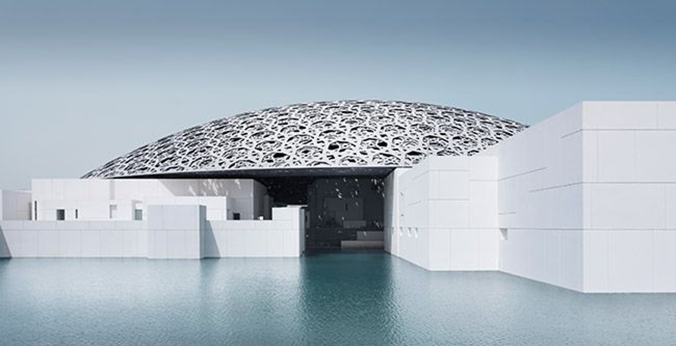 Tata Steel helped build the stunning roof of the Louvre Abu Dhabi
