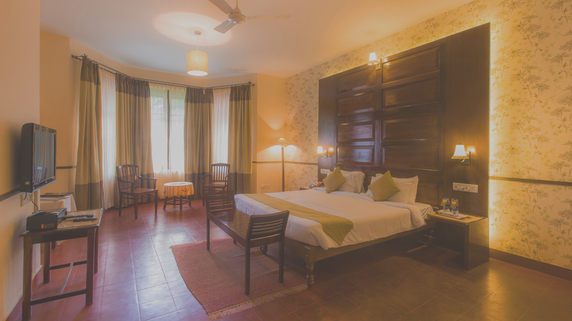 The majestic rooms at Thaneerhulla Bungalow