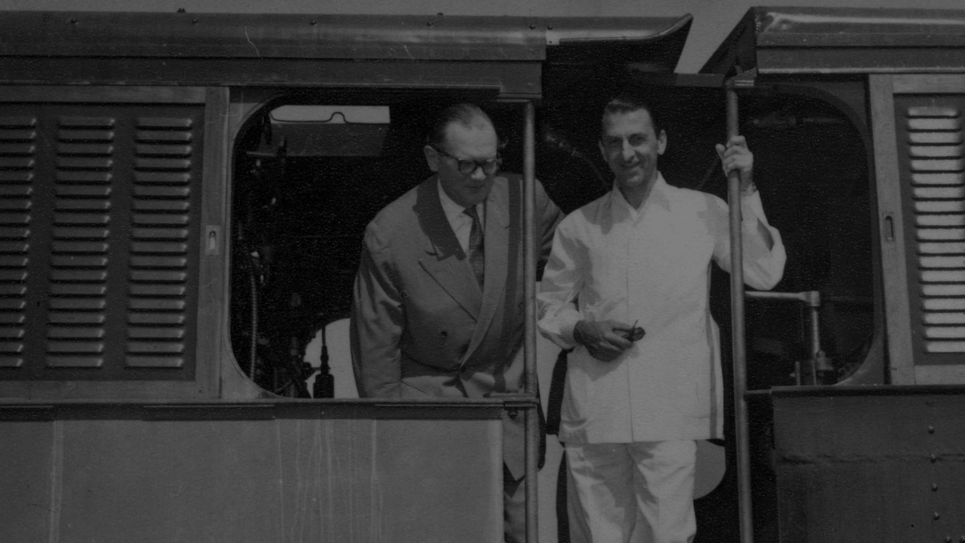 JRD Tata and Dr Fritz Koenecke