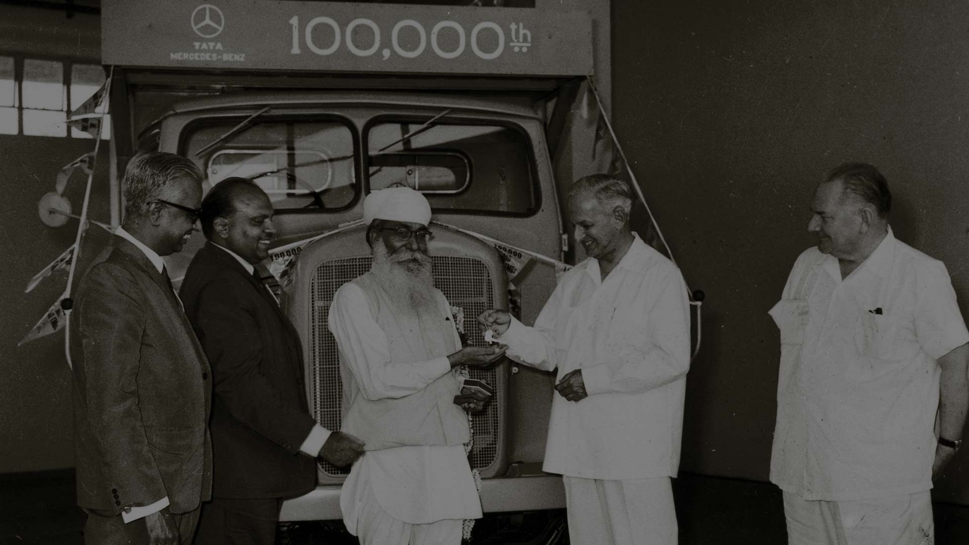 Tata Motors' 100,000th truck