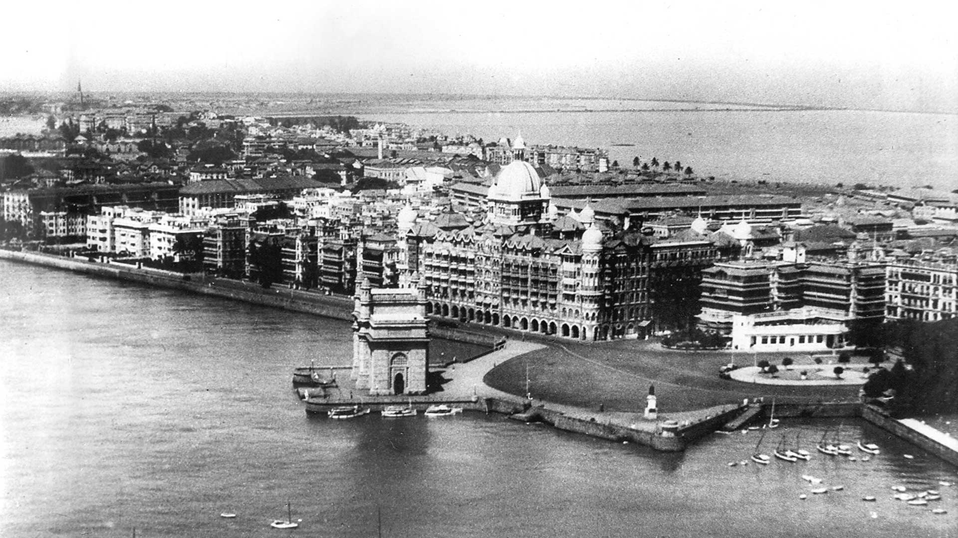 The Taj Mahal Palace was Mumbai's first harbour landmark