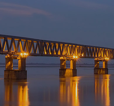 Tata Steel enables creation of Bogibeel Bridge