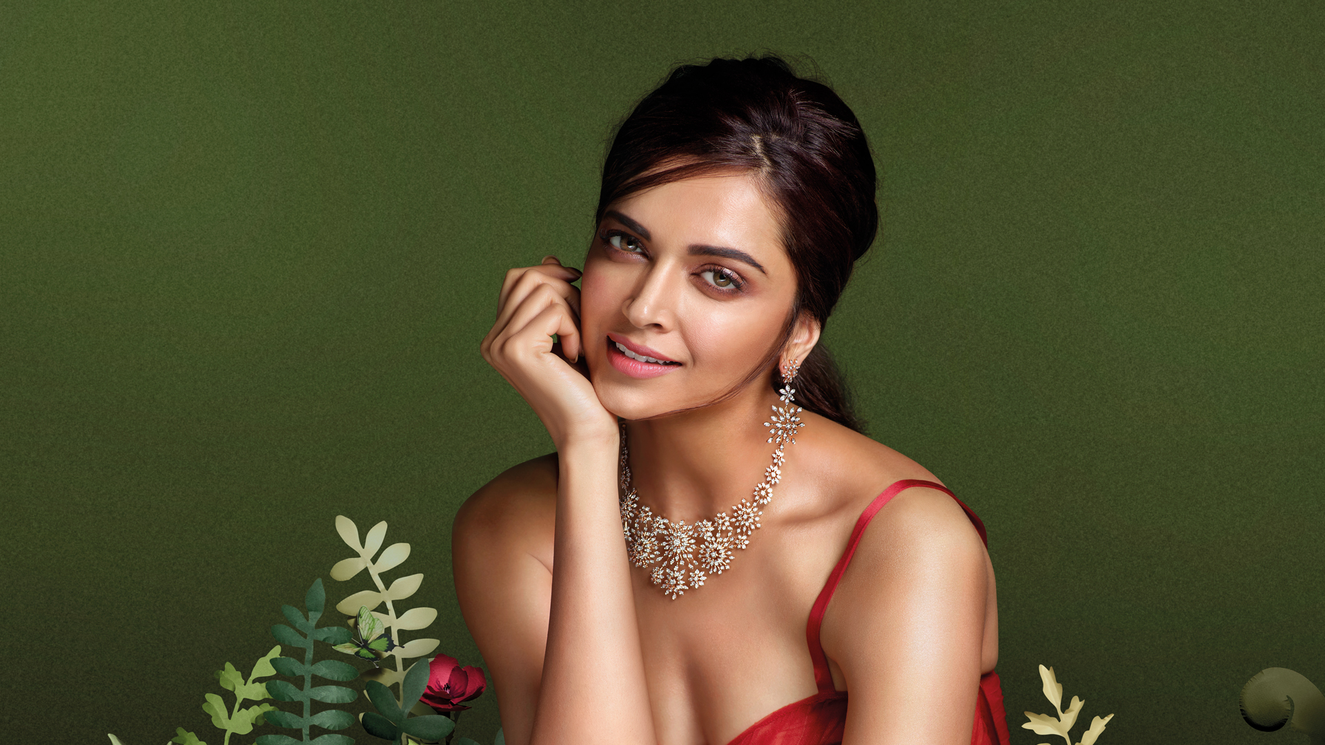 Deepika Padukone for Gulnaz by Tanishq